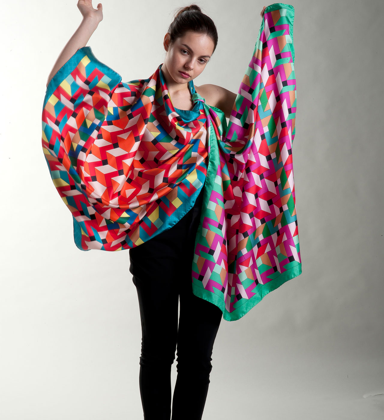 italian brand of silk scarves rama scarves collection