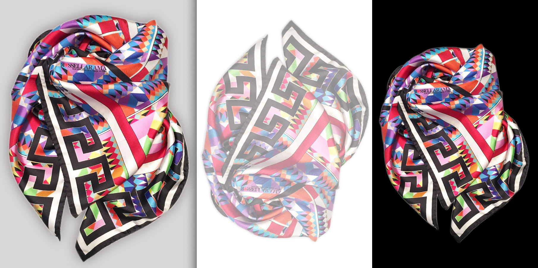 custom printed silk scarves 15 ramascarves collection