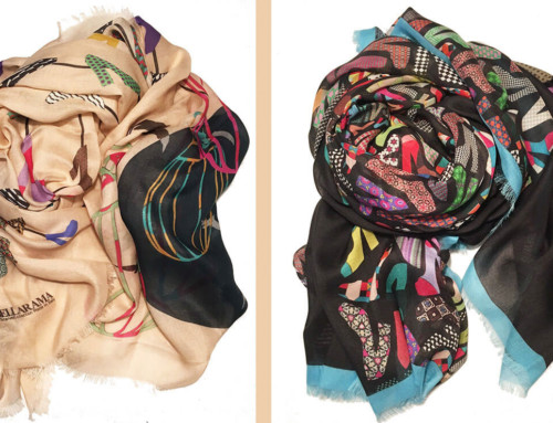 Manufacturers of silk scarves Italy 09