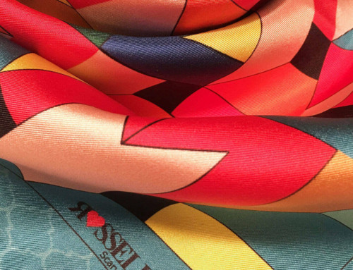 Manufacturers of silk scarves Italy 22