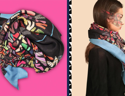 Manufacturers of silk scarves Italy 24