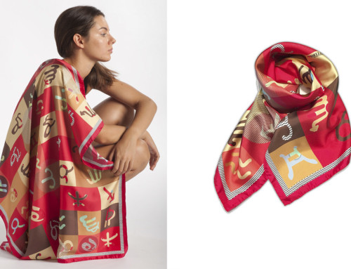 Manufacturers of silk scarves Italy 26